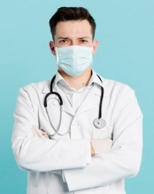 Маска для индивидуальной защиты, маска медицинская одноразовая, пошив.