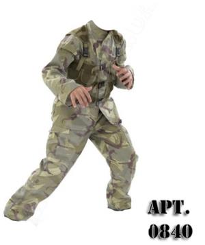 Детская военная форма (арт. 0840)