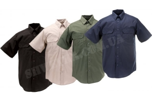 Летняя рубашка для охраны с коротким рукавом.
