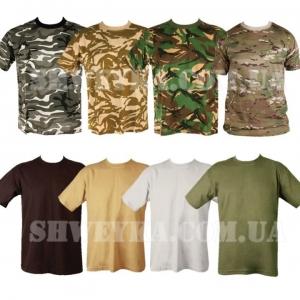 Пошив камуфляжных футболок