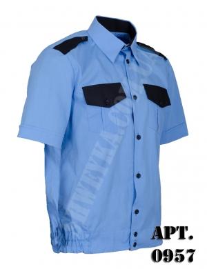 Рубашка охранника с коротким руковом