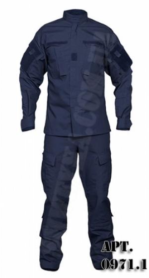 Форма охранника. Темно - синяя