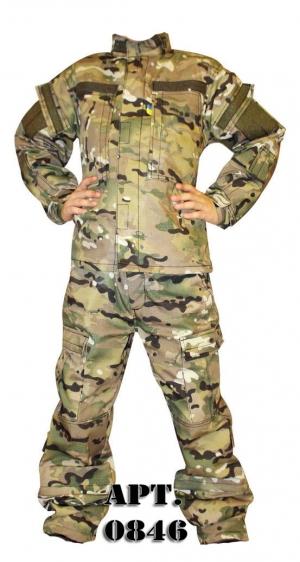 Детская военная форма (арт. 0846)